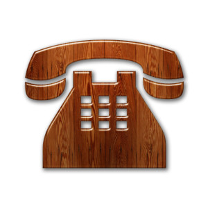 081614-glossy-waxed-wood-icon-business-phone-solid